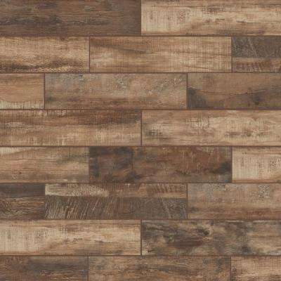 Wind River Beige 6 in. x 24 in. Porcelain Floor and Wall Tile (14 sq. ft. / case)
