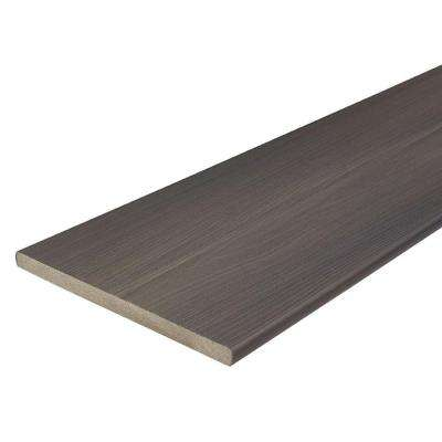 ProTect Advantage 3/4 in. x 11-1/4 in. x 12 ft. Gray Birch Capped Composite Fascia Decking Board