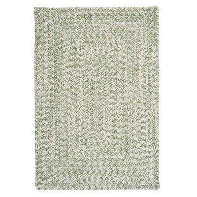 Marilyn Tweed Moss 2 ft. x 4 ft. Braided Area Rug