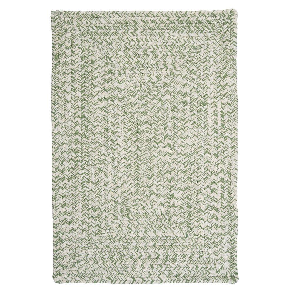 Marilyn Tweed Moss 2 ft. x 6 ft. Braided Runner Rug