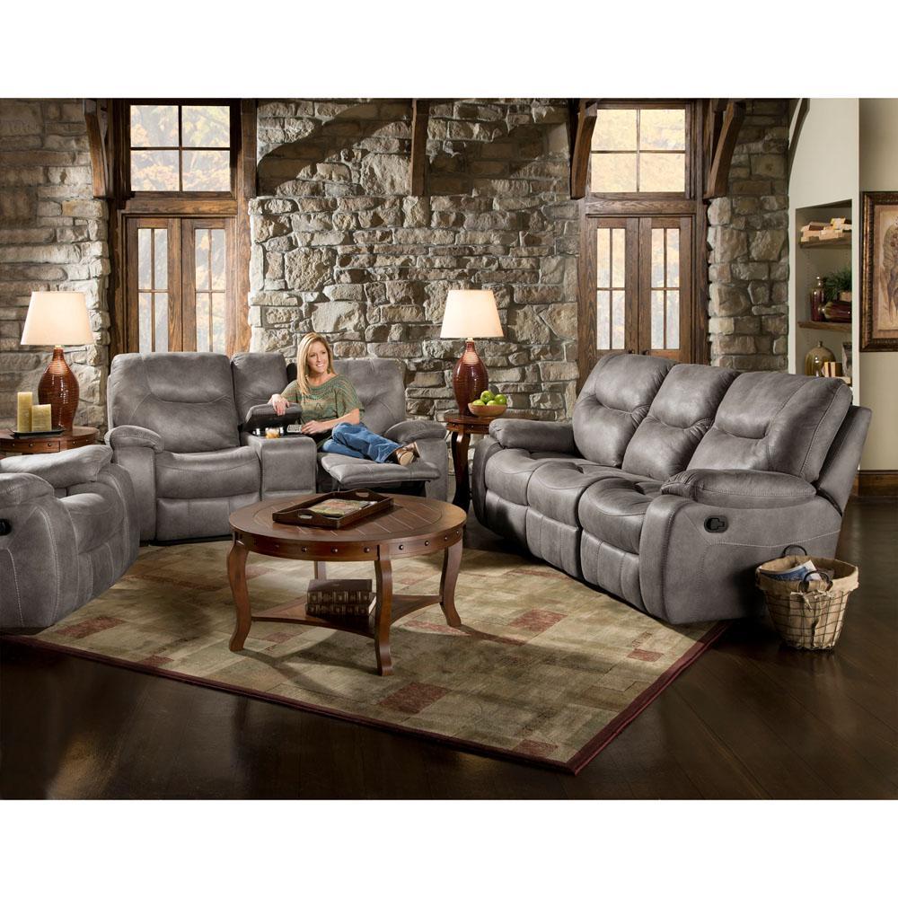 Homestead Steel Double Reclining Sofa