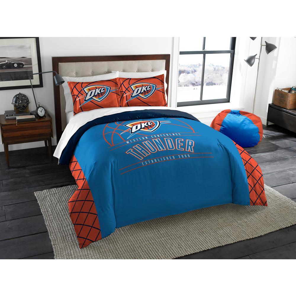 Awesome Fanmats Nba Oklahoma City Thunder Blue 2 Ft X 2 Ft Round Interior Design Ideas Clesiryabchikinfo
