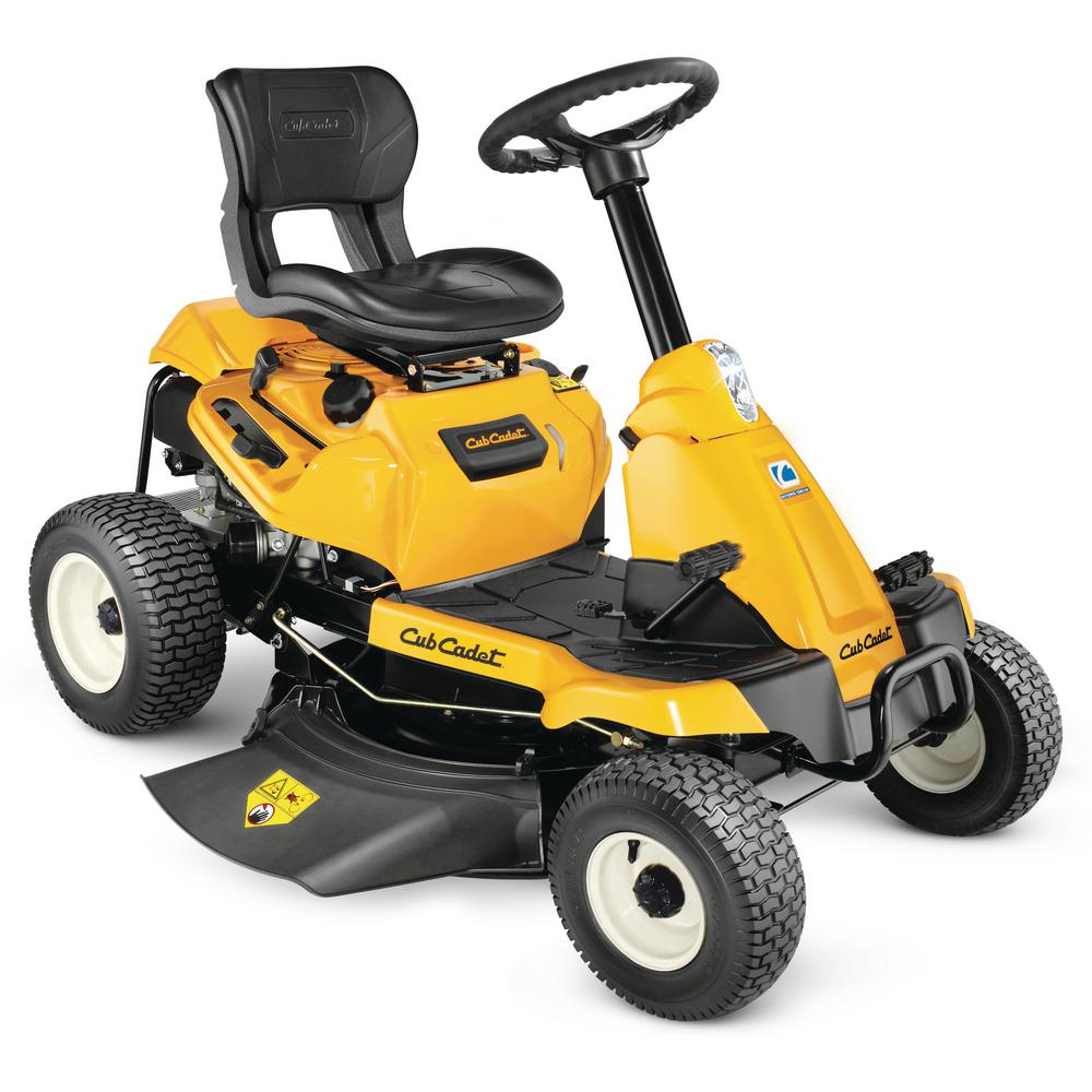 Cub Cadet 30 In 382 Cc Auto Choke Engine Hydrostatic Drive Gas Rear Engine Riding Mower With Mulch Kit Included Cc30h The Home Depot