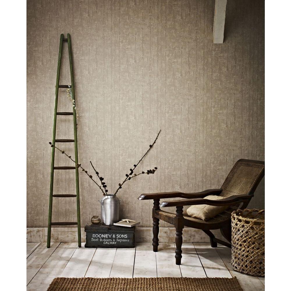 Graham & Brown Driftwood Removable Wallpaper