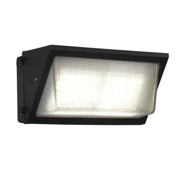 750-Watt Equivalent Integrated Outdoor LED Wall Pack, 11500 Lumens, 5000K, Dusk to Dawn Outdoor Security Light