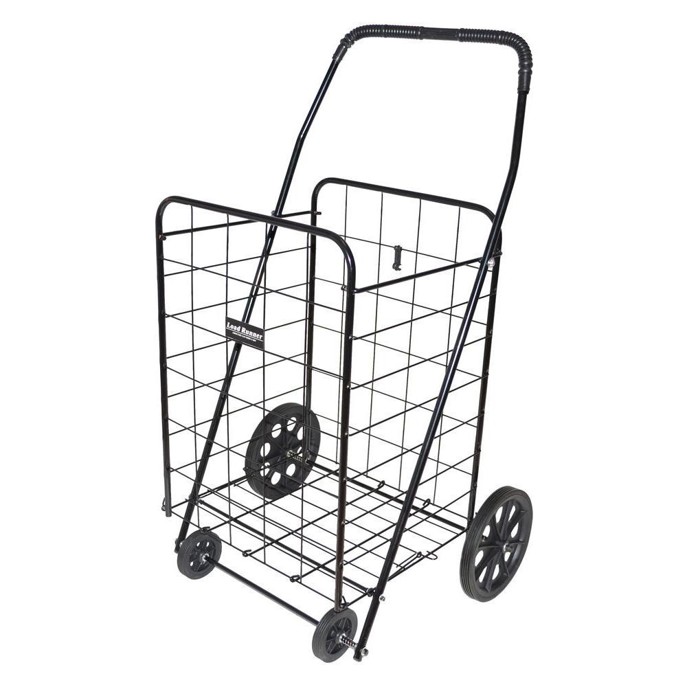Load Runner Jumbo Cart in Black