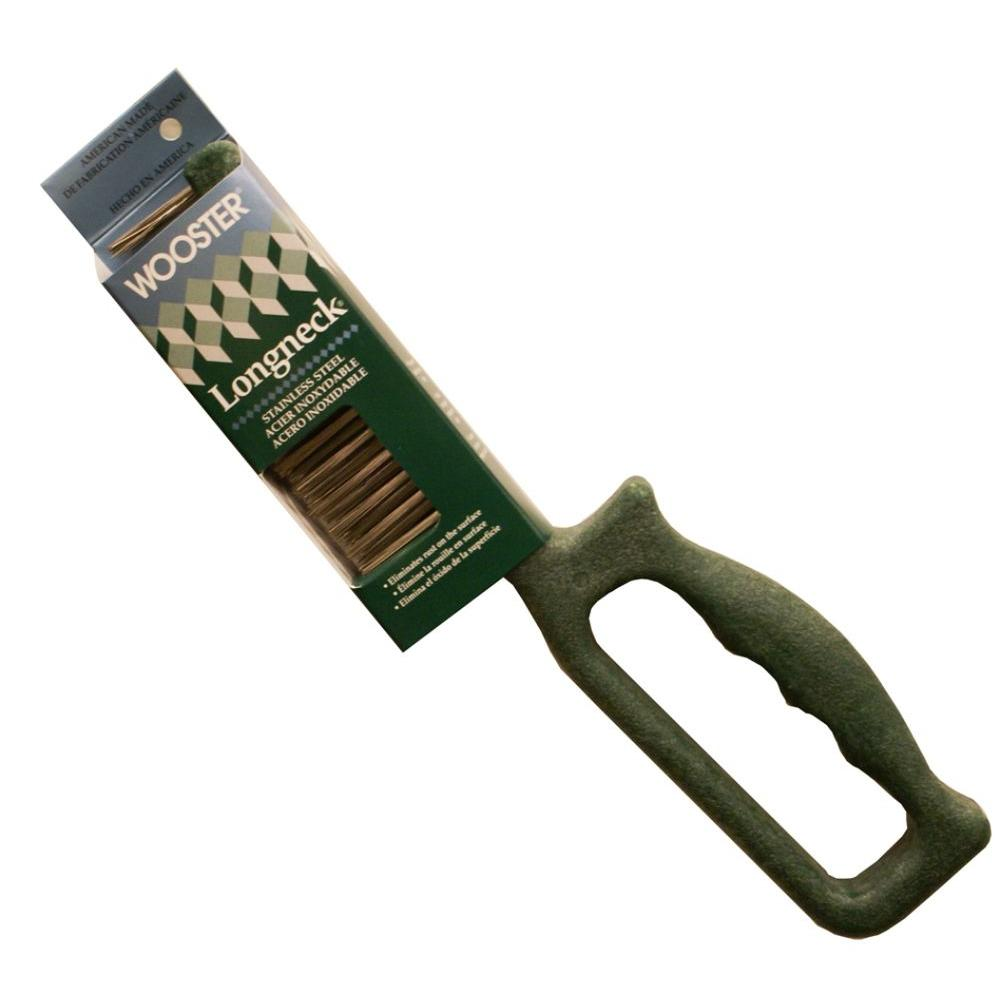 Wooster 6 in. Prep Crew Longneck Stainless Steel Wire Brush