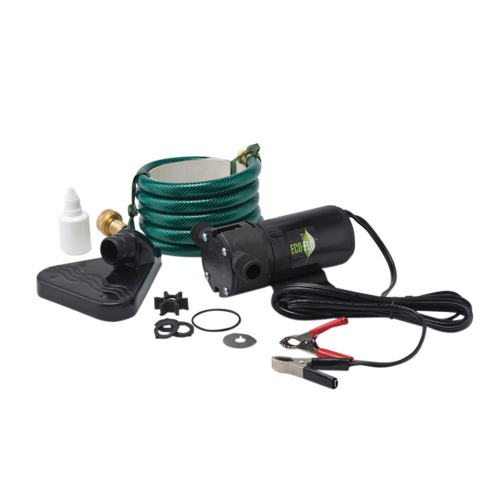ECOFLO ECO FLO 1/12 HP Transfer Pump DC with Water VAC
