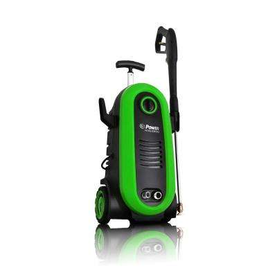 2200 PSI 1.76 GPM Electric Pressure Washer in Green