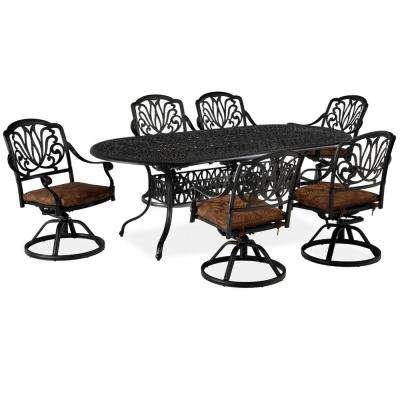 Floral Blossom 7-Piece Patio Dining Set