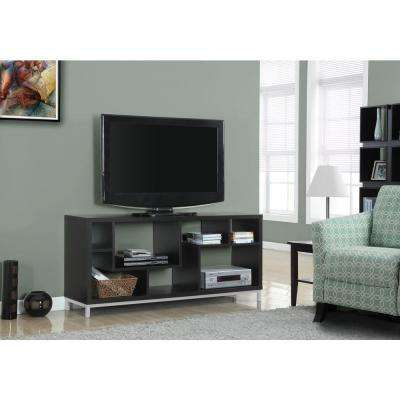 Cappuccino Hollow-Core Entertainment Center