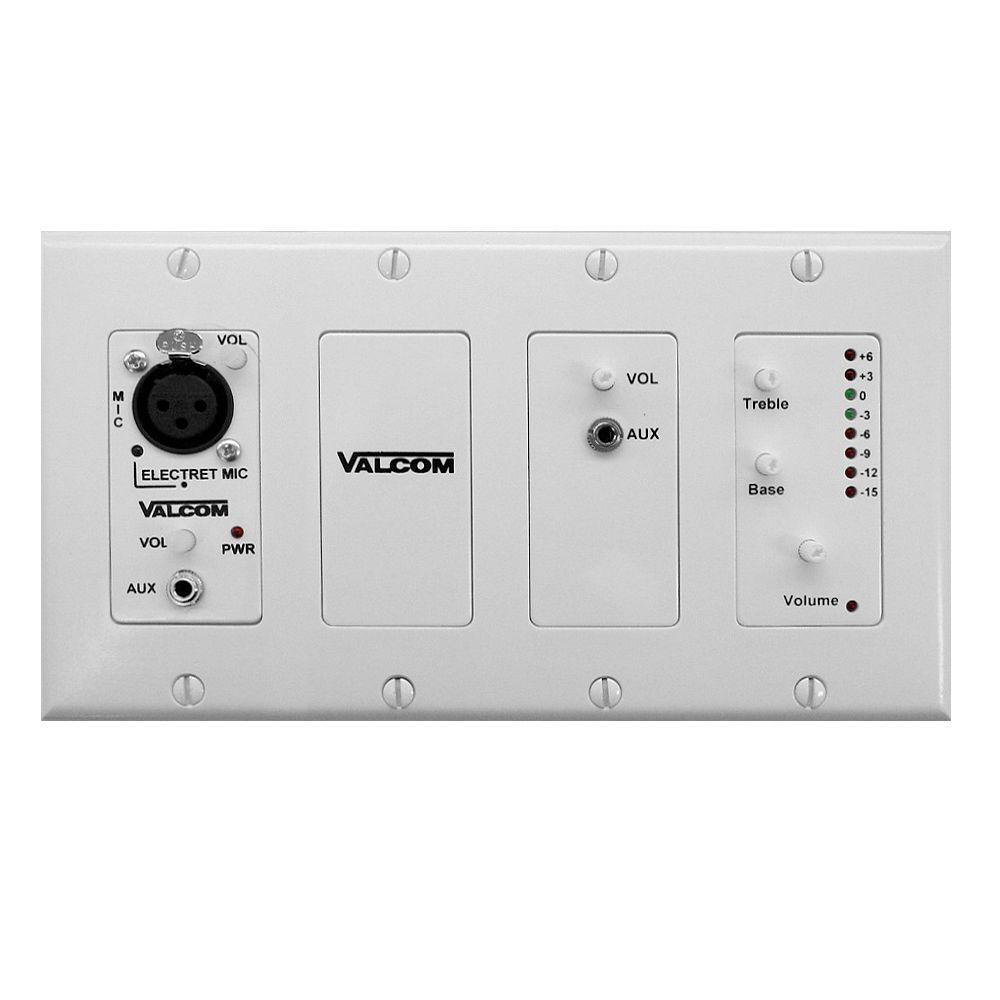 Valcom In-Wall Modular Mixer