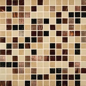 Desert Sunset 12 in. x 12 in. x 4 mm Glass Mesh-Mounted Mosaic Tile