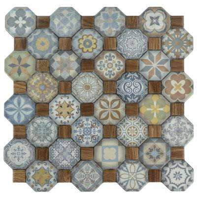 Floor 12x12 Multi Color Ceramic Tile Tile The Home Depot