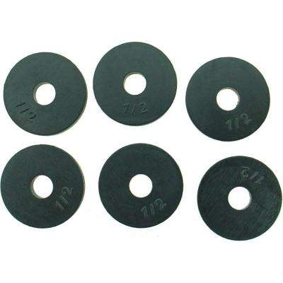 3/4 in. O.D. (1/2 Trade Size) Flat Washers (6-Pack)