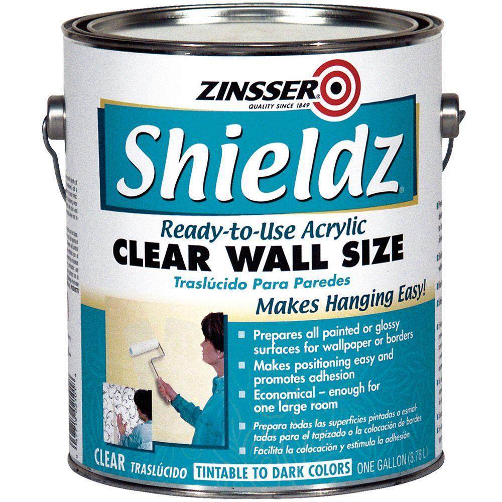 Zinsser 1-gal. Shieldz Clear Wall Size-DISCONTINUED