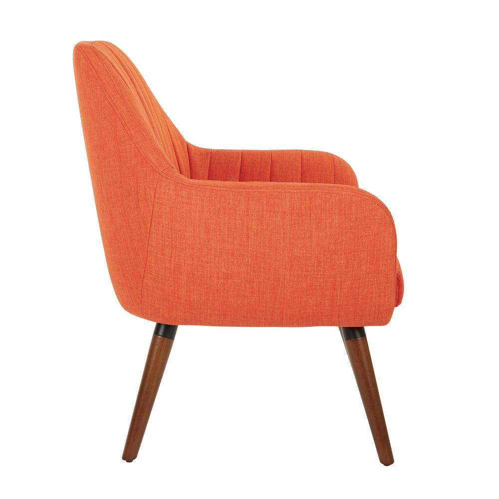 Fantastic Office Star Products Mattie Tangerine Fabric Chair With Creativecarmelina Interior Chair Design Creativecarmelinacom