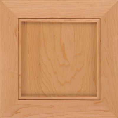 Kraftmaid 15x15 In Cabinet Door Sample In Thornton Maple With