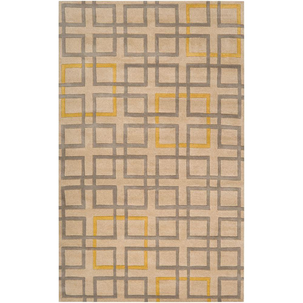 Antioch Beige 5 ft. x 8 ft. Area Rug
