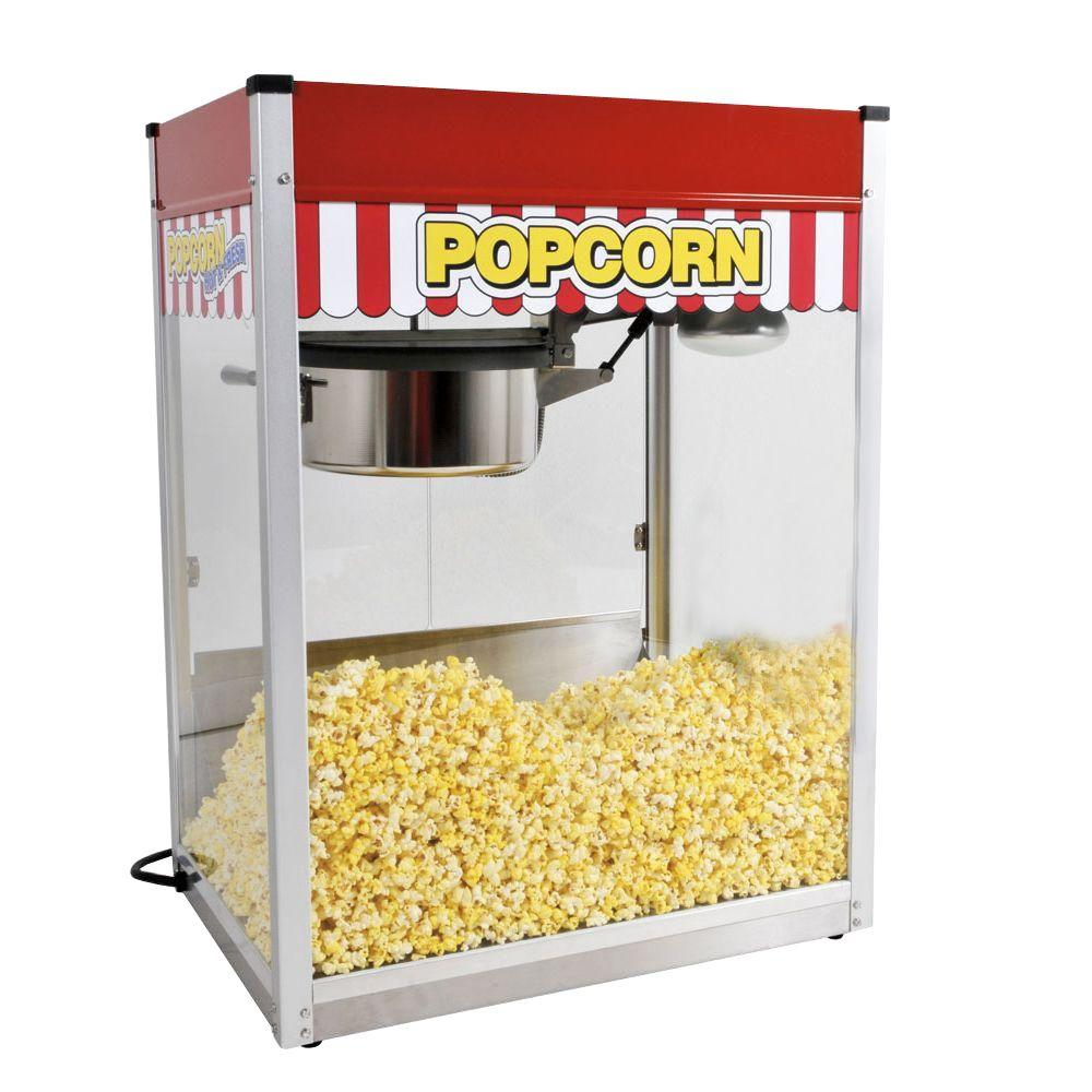 Paragon Classic Pop 16 Oz Popcorn Machine 1116810 The Home Depot