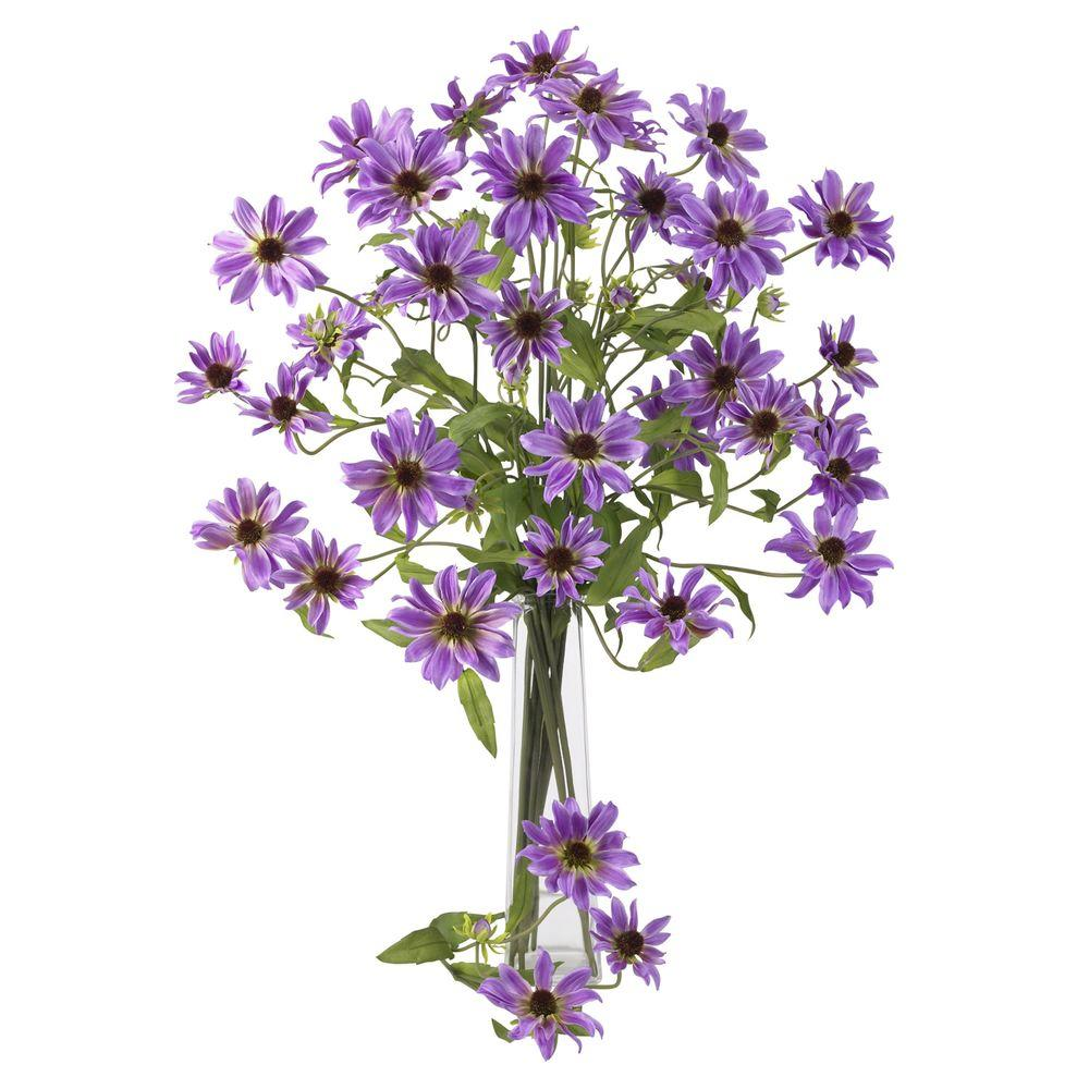 28.5 in. H Purple Cosmo Stem (Set of 12)