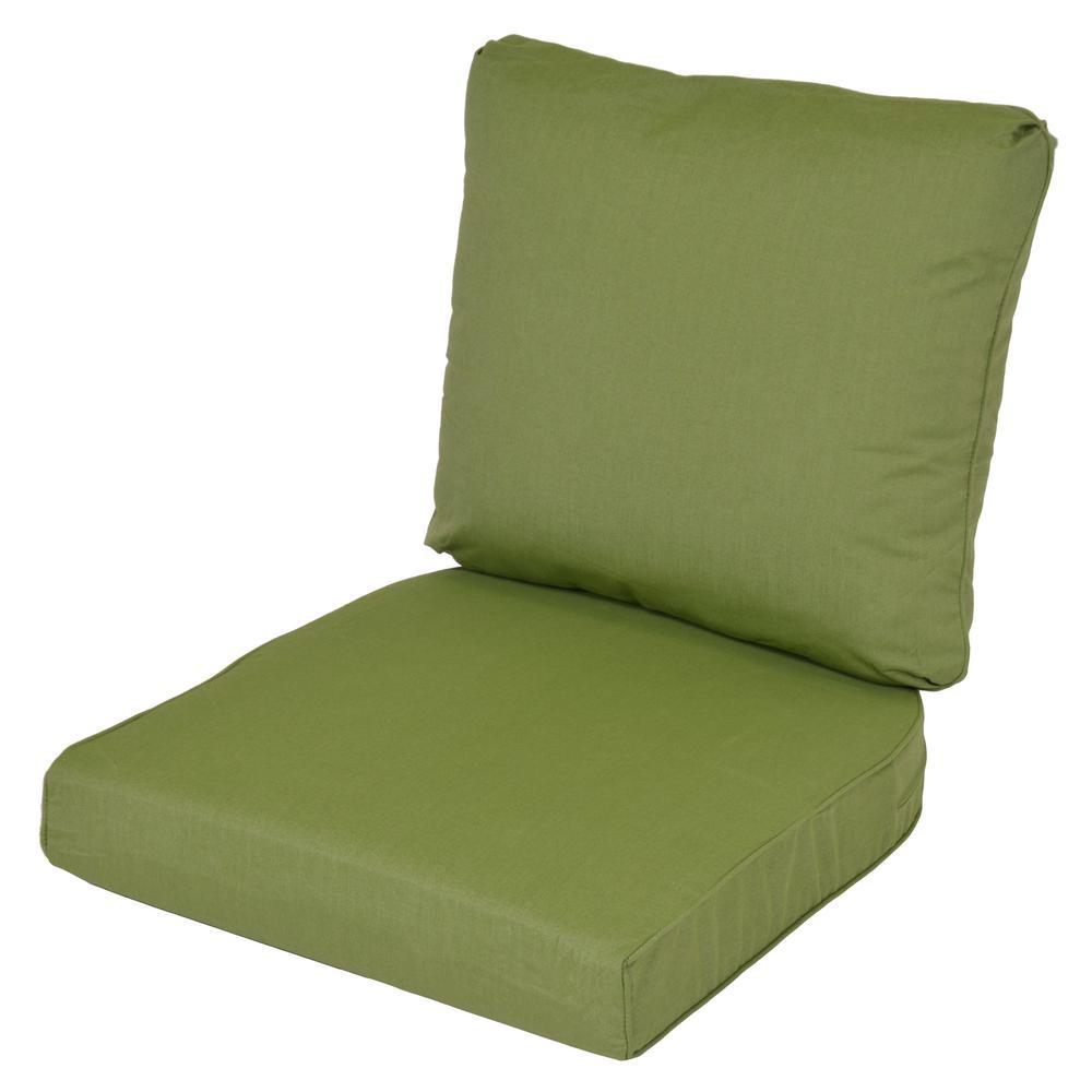 Attrayant Lemon Grove Sunbrella Spectrum Cilantro Replacement 2 Piece Outdoor Dining Chair  Cushion
