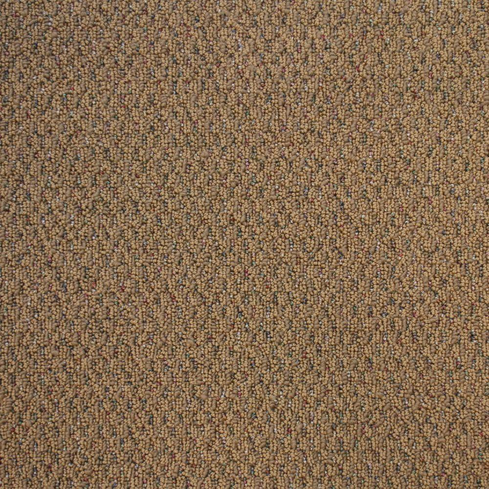 TrafficMASTER Big Picture - Color Cinnabar Textured Berber 12 ft. Carpet