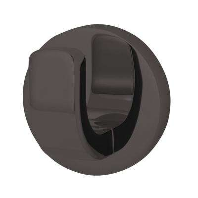 Vector Single Robe Hook in Matte Black