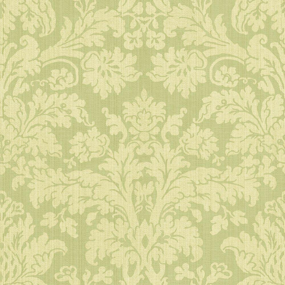 The Wallpaper Company 56 sq. ft. Damask Wallpaper-DISCONTINUED