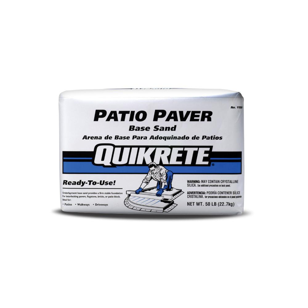 Quikrete 50 lbs. Paver Base Sand-G069 - The Home Depot