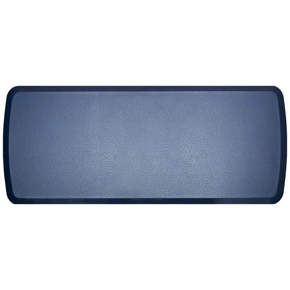 GelPro Elite Quill Atlantic Blue 20 in. x 48 in. Comfort Kitchen Mat