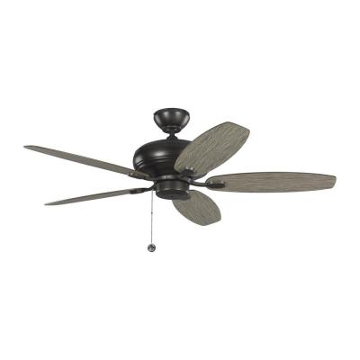 Centro Max 52 in. Indoor Aged Pewter Ceiling Fan