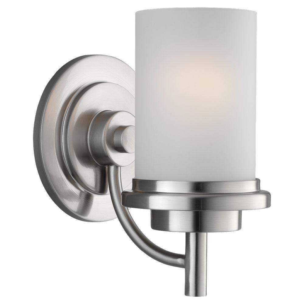 Winnetka 1-Light Brushed Nickel Sconce