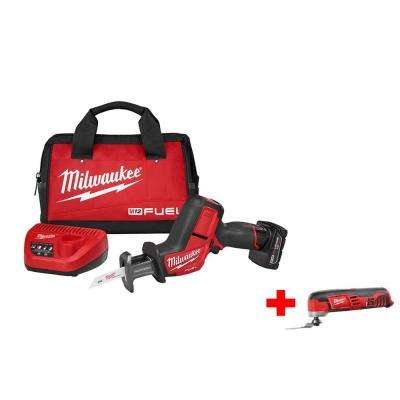 M12 FUEL Cordless HACKZALL Kit with Free M12 Multi-Tool (Tool-Only)
