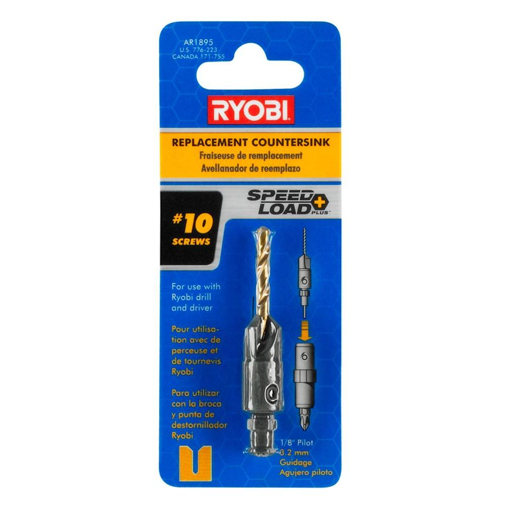 Ryobi SpeedLoad+ 1/8 in. Replacement Countersink