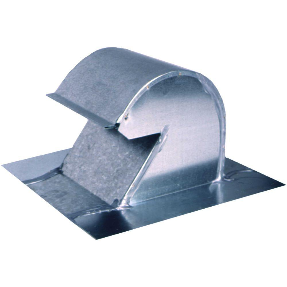 6 In Goose Neck Vent Roof Cap Gnv6 The Home Depot