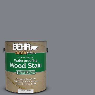 1 gal. #N530-5 Mission Control Solid Color Waterproofing Wood Stain