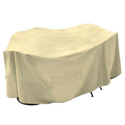 120 in. Cover All Patio Cover Taupe