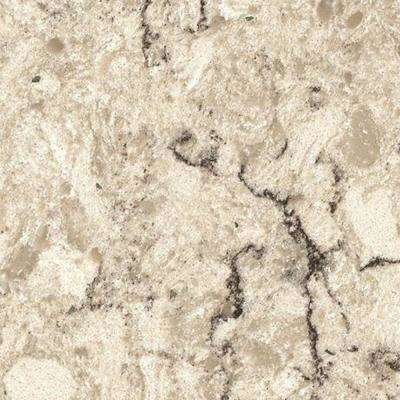 3 in. x 3 in. Quartz Countertop Sample in Aria