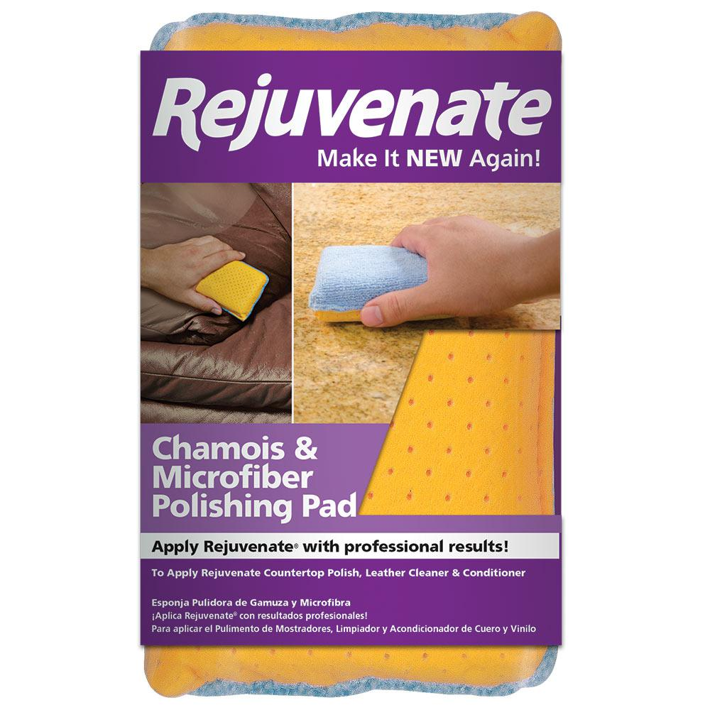 Rejuvenate Rejuvenate Chamois and Microfiber Polishing Pad, Multi