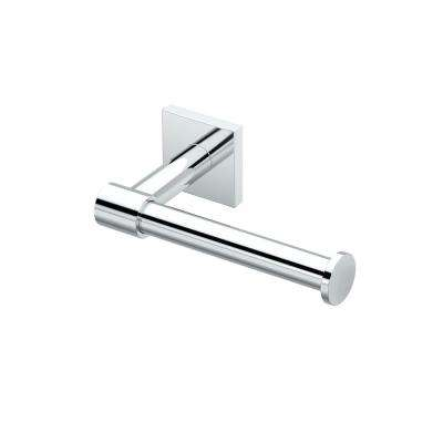 District II Euro Toilet Paper Holder in Chrome