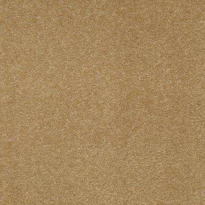 Carpet Sample-Enraptured I - Color Palomino Texture 8 in x 8 in