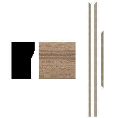 4Ever Frame 180 1-1/4 in. x 2 in. x 83-1/2 in. Woodgrain Primed Composite Brickmould Kit (3-Pieces)