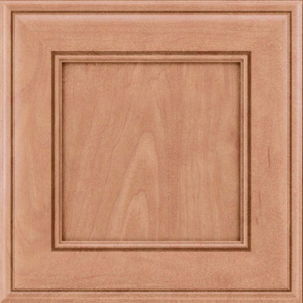 Kraftmaid 15x15 In Cabinet Door Sample In Holace Maple Square In