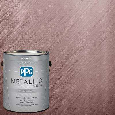 1  gal. #MTL119 Silvery Orchid Metallic Interior Specialty Finish Paint
