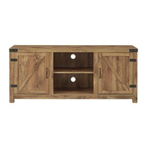 Rustic Barnwood Storage Entertainment Center