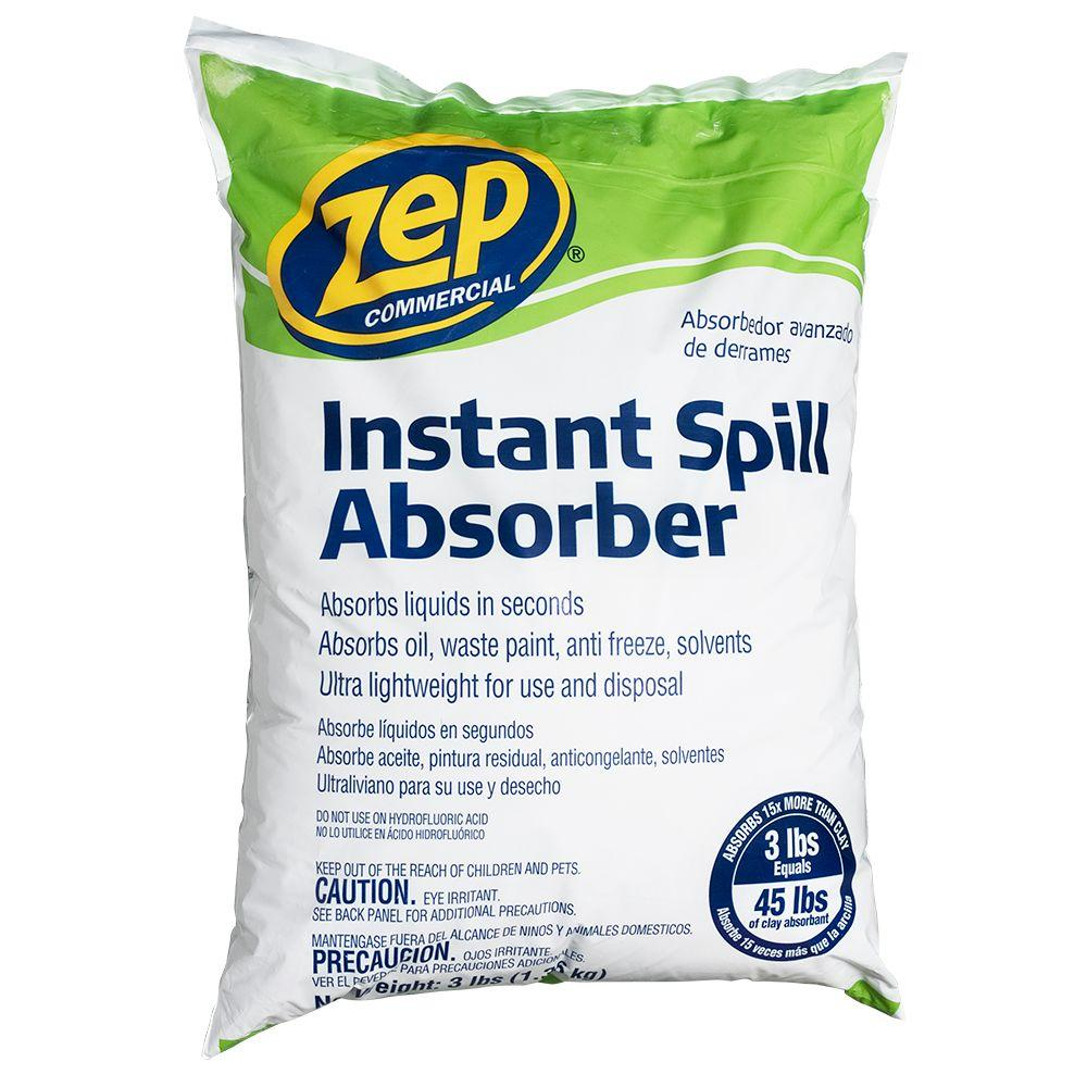 ZEP 3 lbs. Instant Spill Absorber-ZUABS3 - The Home Depot