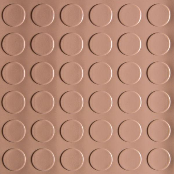G-Floor Coin 10 ft. x 24 ft. Sandstone Commercial Grade Vinyl Garage Flooring Cover and Protector Cover and Protector
