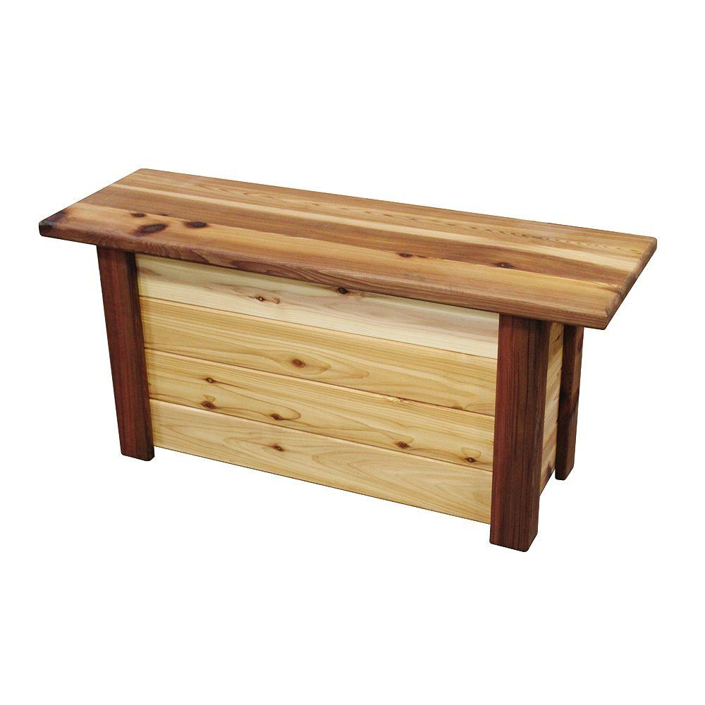 16 in. x 48 in. x 22 in. Patio Storage Bench/Toy