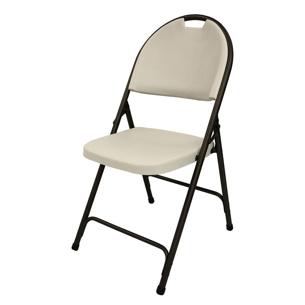 HDX Earth Tan Folding Chair